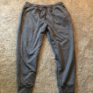 Youth joggers in grey